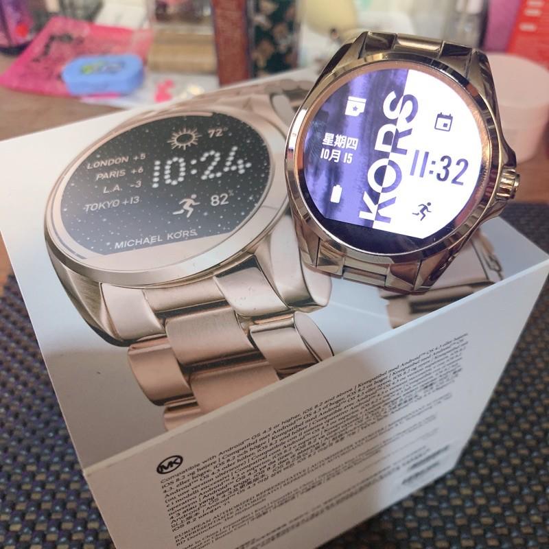 二手 MICHAEL KORS ACCESS 智慧型手錶 MK智慧錶