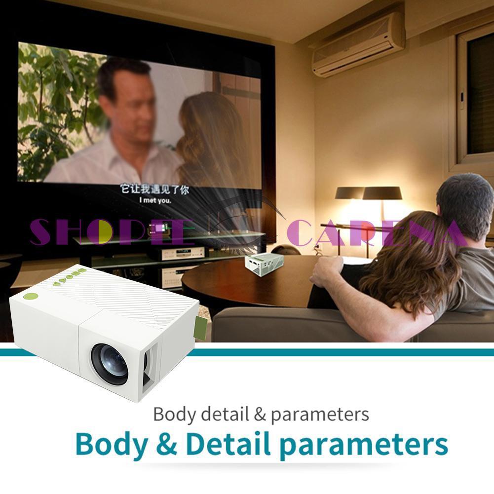 Yg310 Led 投影儀家庭影院 1080p 高清娛樂視頻多媒體波束器