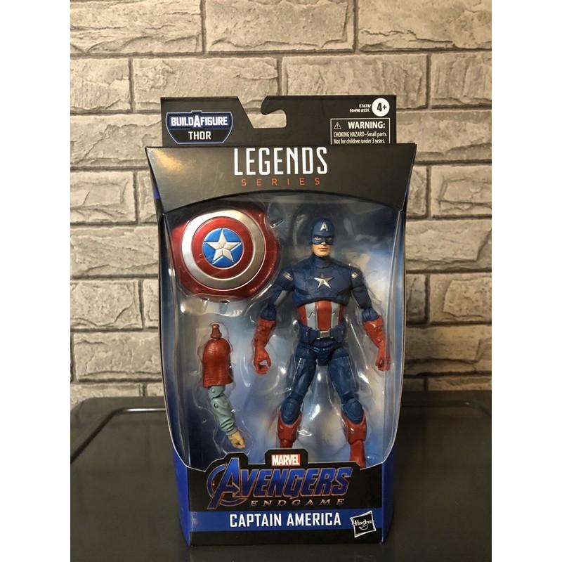 [現貨]Marvel Legends 漫威 六吋 美國隊長 終局之戰 肥雷神索爾套 翹臀隊長