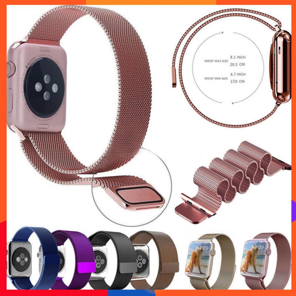 【回環錶帶】尼龍回環錶帶適用於Apple watch 4/5/6/SE方便魔鬼氈扣蘋果手錶適用蘋果手錶Apple wat
