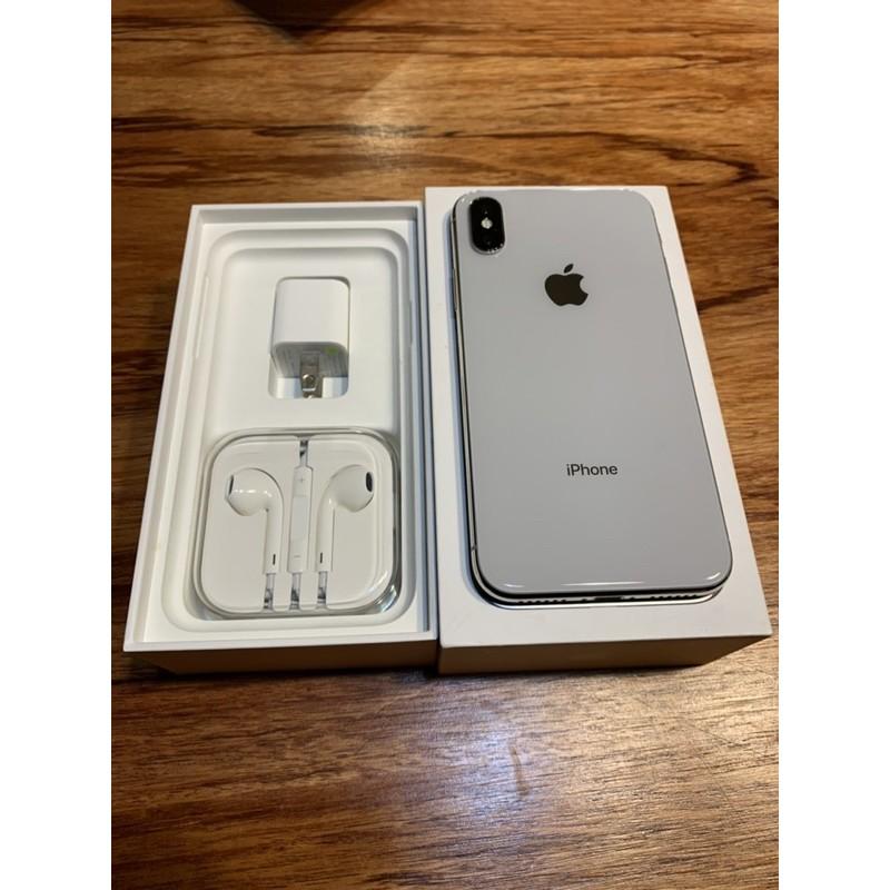 iphone x 256g 原廠盒裝 全機包膜 8新出清