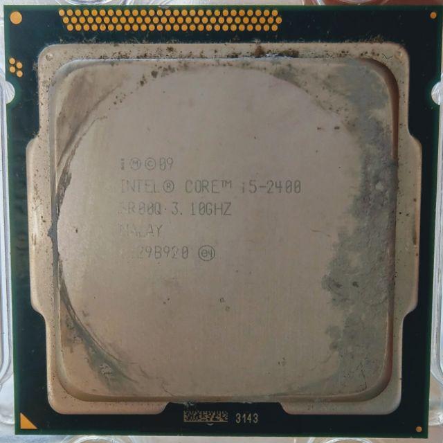 INTEL 1155 i5-2320 I5-2400 I5-2500K CPU 第二代