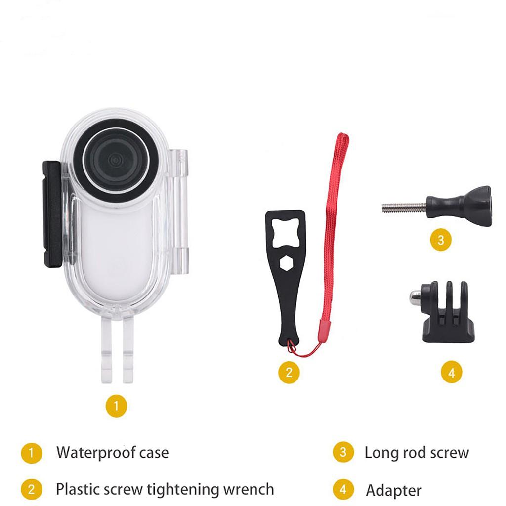 適用於Insta360 Go2 拇指相機防水殼 保護蓋外殼