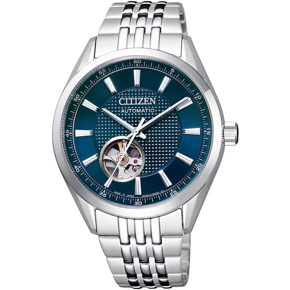 CITIZEN 機械錶(Mechanical)系列 藍寶石玻璃機械錶(NH9110-81L) {葳葳的精品}