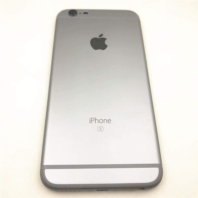 iPhone 6S 6 Plus的後蓋外殼蓋iPhone 6 6S Plus的後電池蓋中面板擋板背面蓋,帶側鍵+卡托盤支