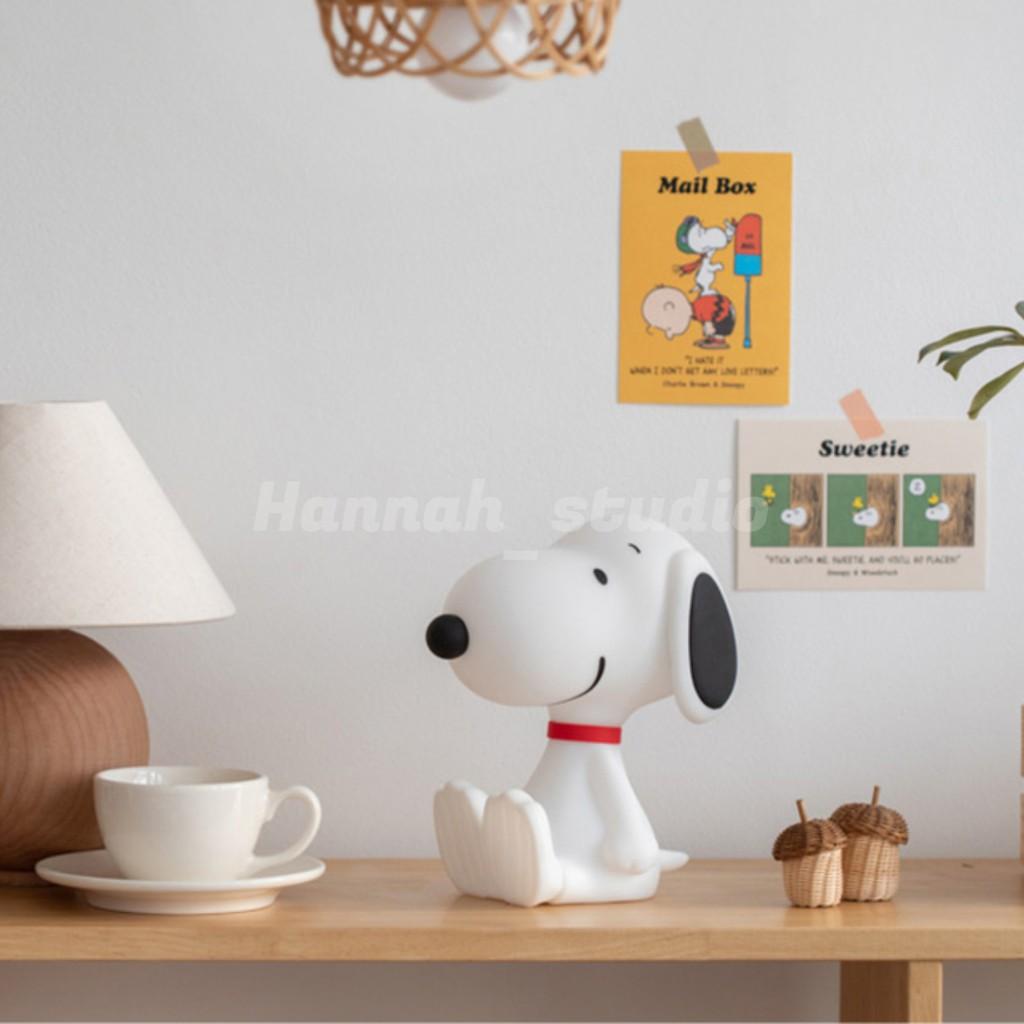【漢娜代購】✨現貨✨韓國 10X10 史努比 造型夜燈 Snoopy 小夜燈 夜燈 史努比夜燈 觸控燈