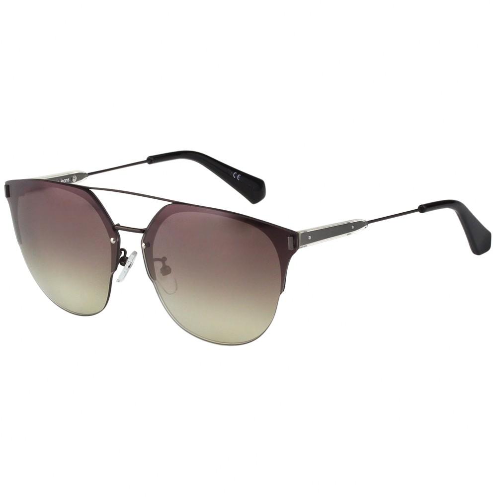 Calvin Klein Jeans 水銀面 太陽眼鏡(咖啡色)CKJ172SAF