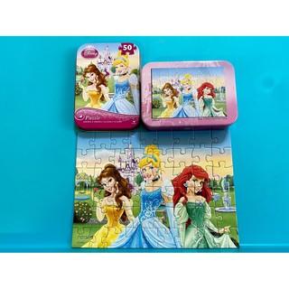 好市多 鐵盒拼圖 小美人魚 迪士尼公主 冰雪奇緣 拼圖 授權卡通 知名卡通 嘉義市