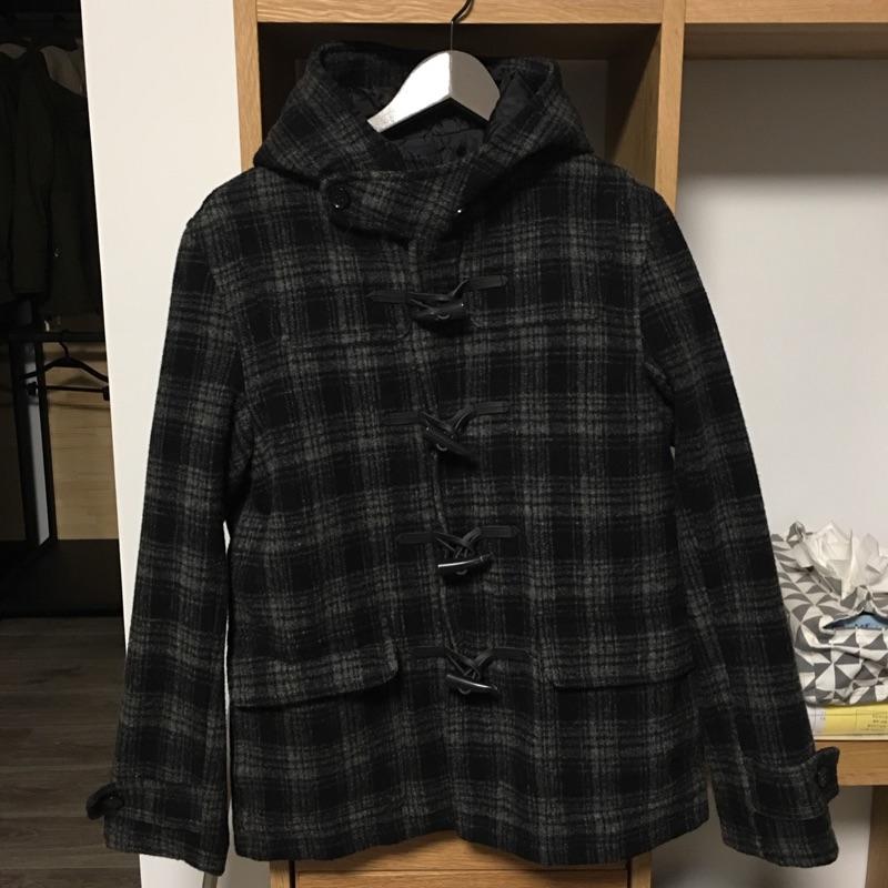 日系品牌Rageblue 牛角釦大衣
