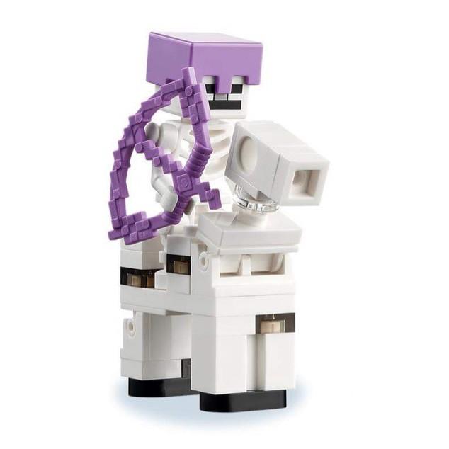 小金獅  LEGO 樂高 創世神系列 21171 Skeleton Horseman 骷髏騎士+馬