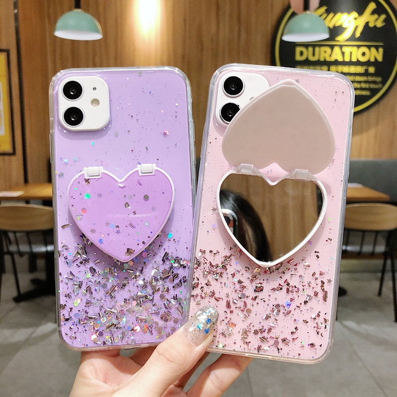 Love Mirror Case三星Galaxy A30 A50 A51 A31 A01 A10S A20S Note