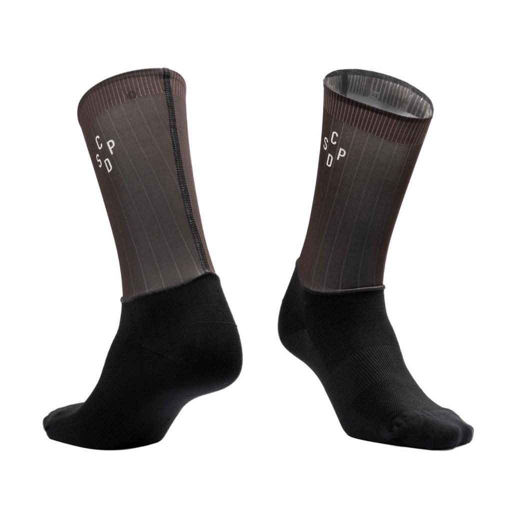 ▼樂威單車▼CSPD Naked Socks.CSPD單車襪.CSPD車衣.CSPD Socks.騎行襪 (棕)