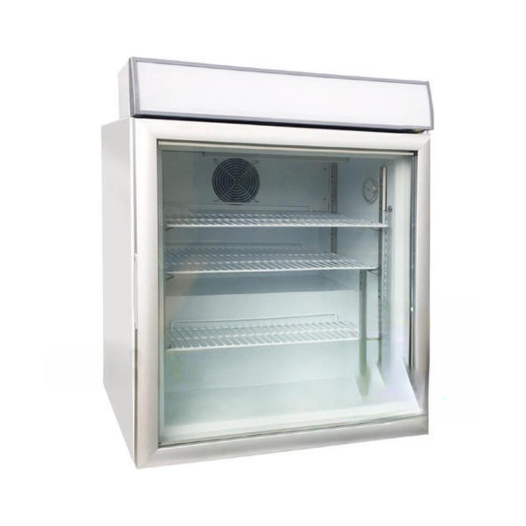 💎冷凍王💎Warrior【直立式桌上型冷凍櫃】冰淇淋櫃 桌上型玻璃冰箱 冷凍展示櫃 冷凍櫃 冷凍小冰箱 (SD-92A)