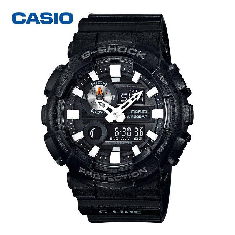 """2021開學""""卡西歐""""GAX-100B-1A 多功能腕錶 運動錶 石英 電子錶 VG6M2021新品夏季新品 9RpP"""