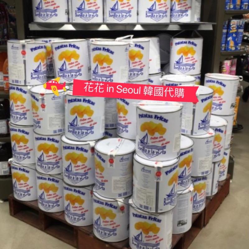 [花花🌺韓國直送] bonilla a la vista 油漆桶洋芋片 家庭裝/ 健康洋芋片 派對必備