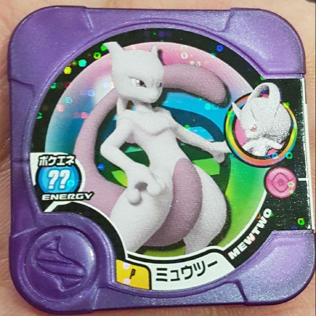神奇寶貝 Tretta方形卡匣 紫P超夢Y. 紫P超夢X