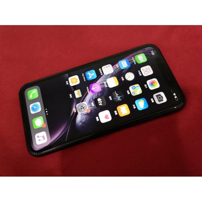 ※聯翔通訊 黑色 Apple iPhone XR 256G 台灣原廠過保固2019/10/30 原廠盒裝 ※換機優先