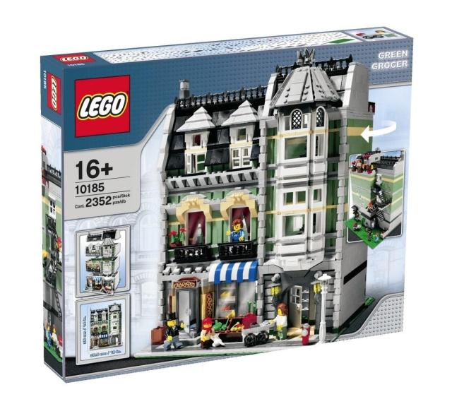 【滿天星辰】樂高積木LEGO 10185綠色雜貨鋪GreenGrocer街景系列絕版玩具收藏
