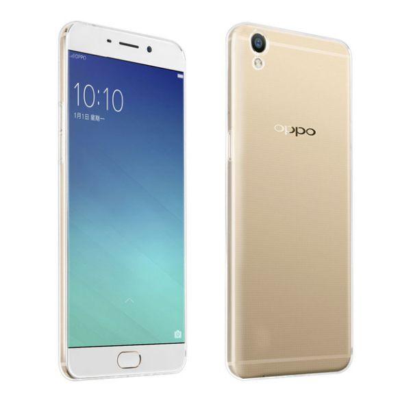 OPPO R9 Plus 晶亮透明 TPU 高質感軟式手機殼/保護套 附一體式防塵塞