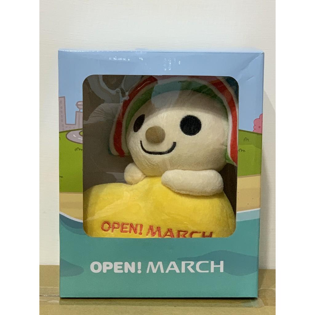 NISSAN 日產 Open March 聯名娃娃 Open小將