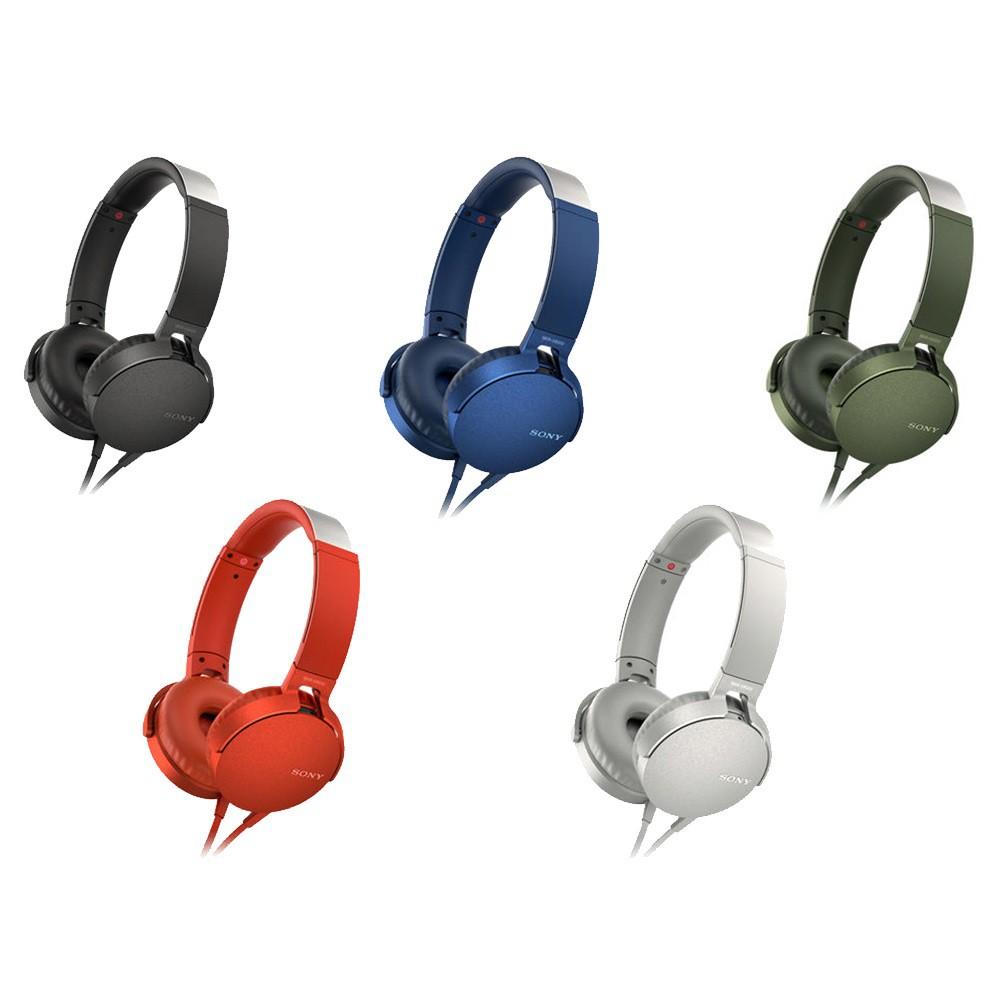 SONY | MDR-XB550AP 重低音立體聲耳機
