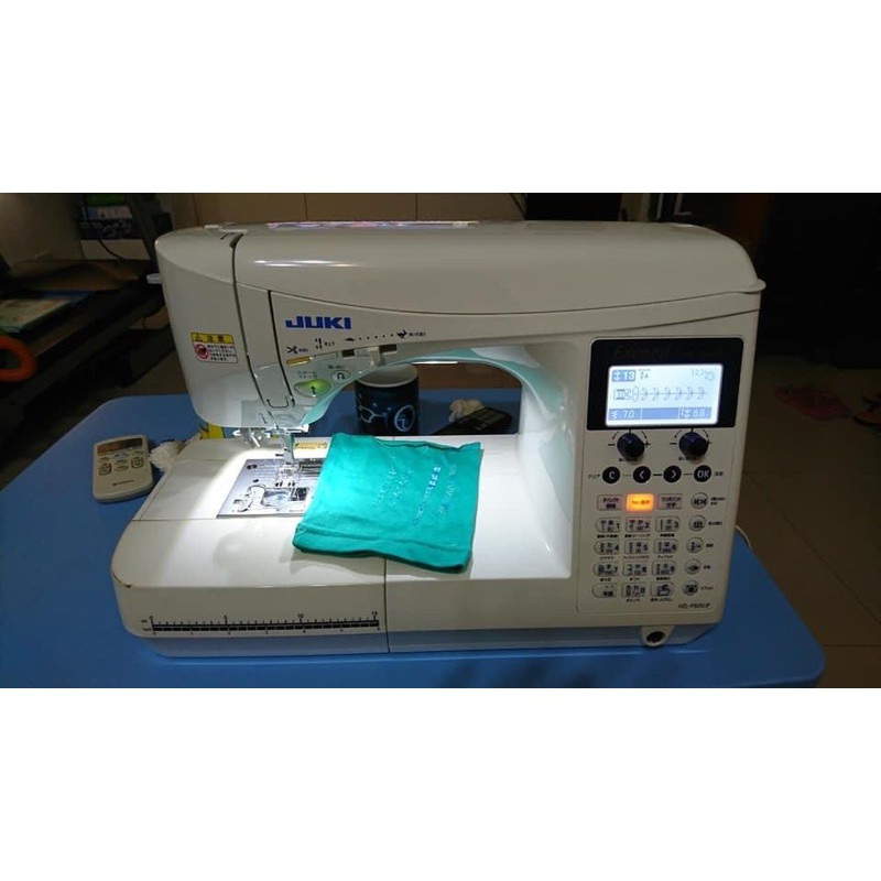 二手 日本Juki F600 電腦縫紉機