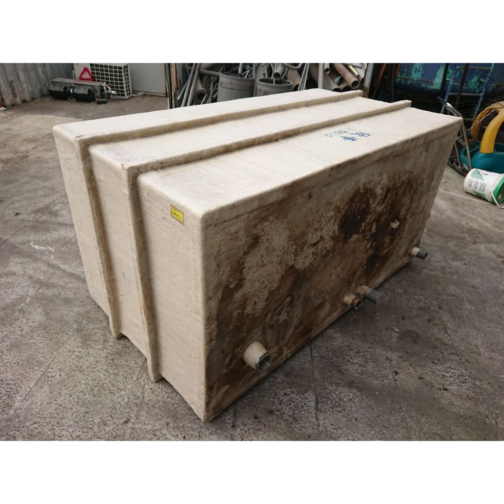[龍宗清] 方形FRP纖維桶(污水槽) (19110801-0001) 養殖槽 養殖桶 玻璃纖維塑膠桶