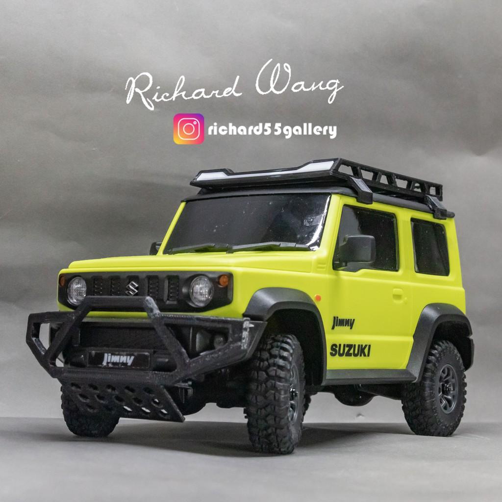 卡式!!不用黏! 前保險桿+下護板! 小米Suzuki Jimny遙控車 改裝品(聊聊可客製化 !) 吉姆尼 3D列印