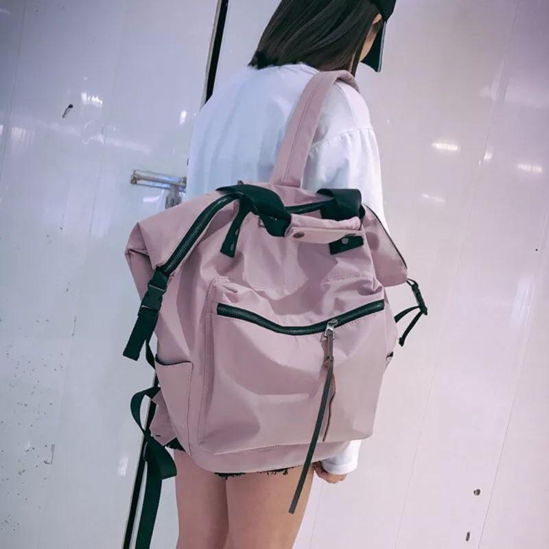 韓版双肩大容量旅行背包 超輕 寬背帶不累肩