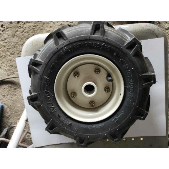 單輪 中耕機 用 橡膠輪  350-5