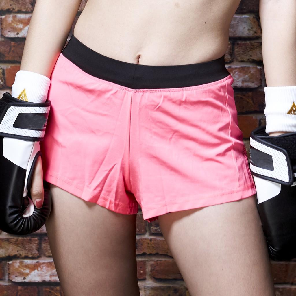 AREX SPORT 運動不走光假兩件短褲(慢跑、路跑、運動褲、瑜珈)