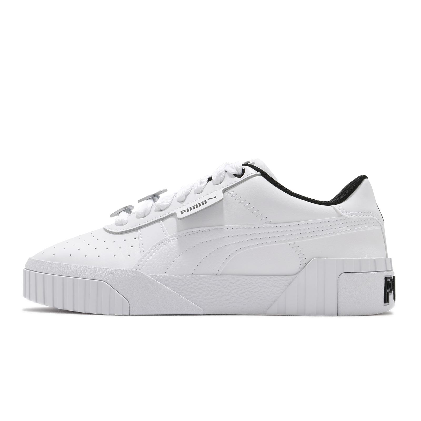 Puma 休閒鞋 Cali Galentines Wns 白 黑 女鞋 厚底 增高 愛心【ACS】 37495002