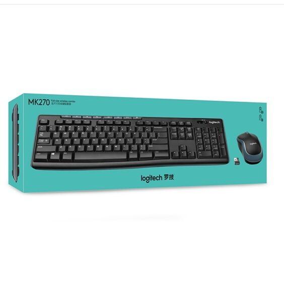 羅技(Logitech)MK275 MK270 MK220 K315無線鍵鼠套裝國行3年質保