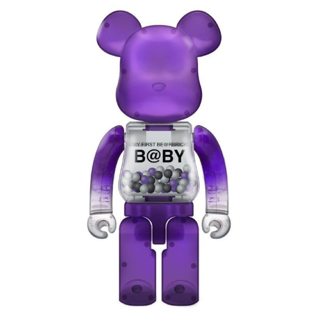 BE@RBRICK MACAU2020 My First Bearbrick Baby 澳門限定 千秋 紫色 1000%