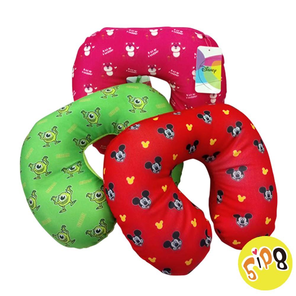 [迪士尼] 兩用變形頸枕 飛行枕抱枕 懶骨頭 午休枕 三款任選【5ip8】[現貨]米奇.熊抱哥.大眼仔