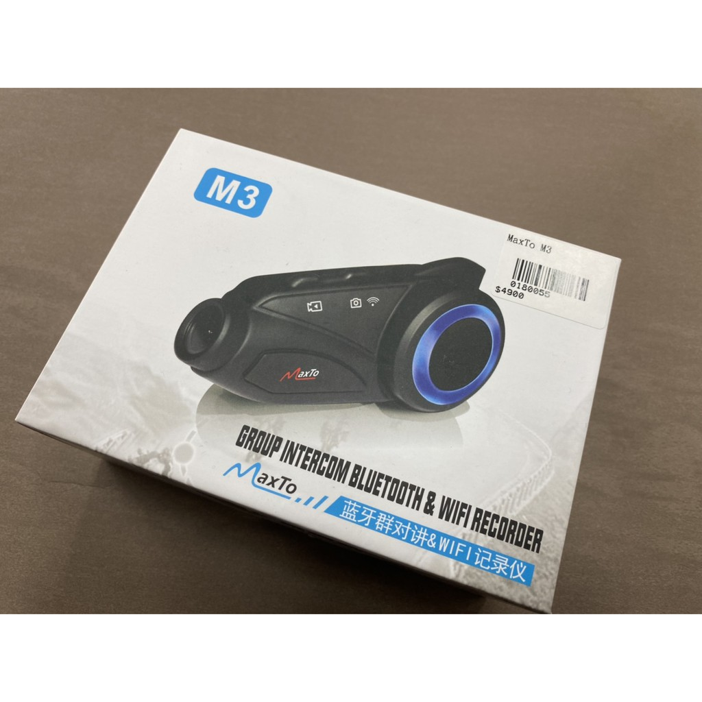 【瘋騎仕】 MaxTO M3 藍芽通訊行車紀錄器 1080P Wifi 超續航 贈32G記憶卡 飛樂M3 獵鯊 保1年
