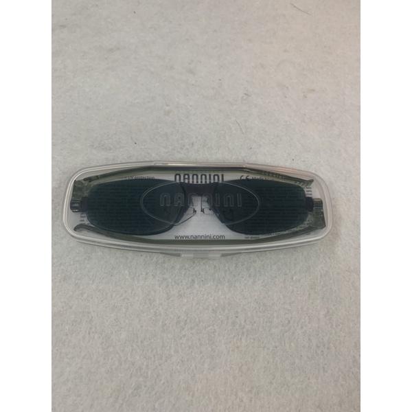 全新正品 nannini 折疊 太陽眼鏡 抗uv 義大利製