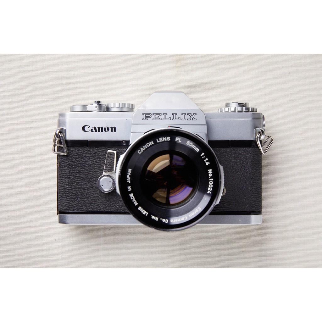 【森寫真機店】Canon PELLIX #281+canon FL 50/1.4