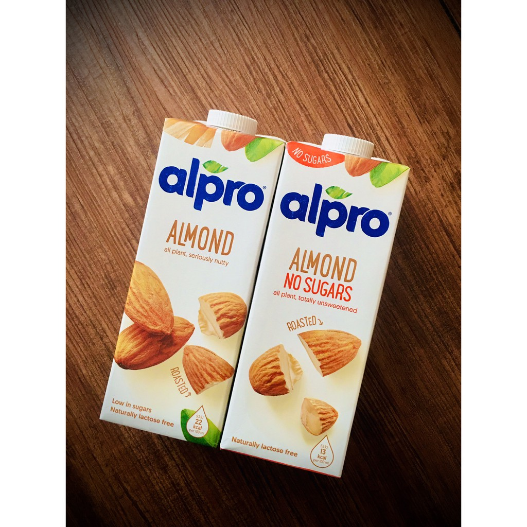 六罐免運優惠! 比利時 ALPRO 🏆 無糖杏仁奶 原味杏仁奶 杏仁奶 無糖 原味 植物奶 碳水0 生銅飲食