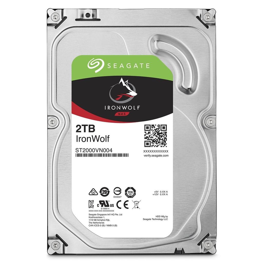 Seagate 那嘶狼 IronWolf 2TB 3.5吋 (ST2000VN004) NAS專用硬碟
