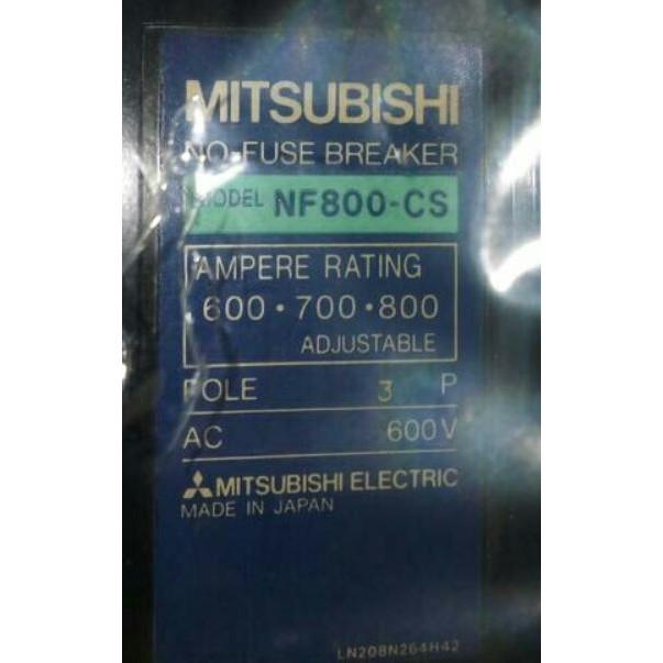 💗 日本 富士 三菱 NF800-CS SA803R 無熔絲開關 3P 500A 600A 700A 800A 斷路器