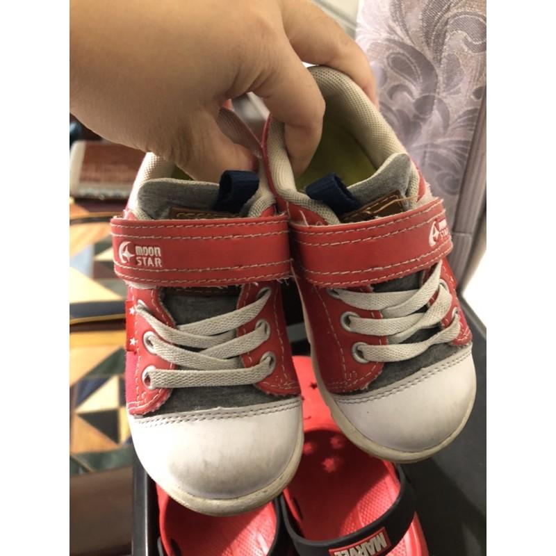 月星MoonStar 女童二手鞋、布鞋