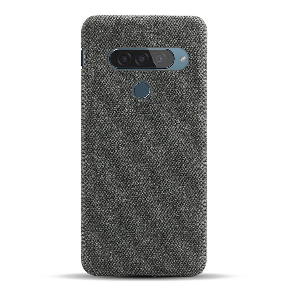優選 手機殼♕●適用LG G8S手機殼布面輕薄lg g8雙攝美版防摔保護套簡約手機套殼