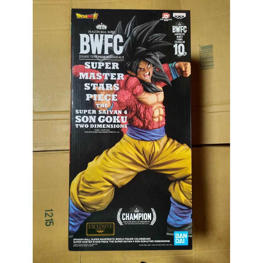 七龍珠 一番賞 SMSP BWFC 認證店限定 海外版 2D色 超級賽亞人4 超四 孫悟空 非 巴達克 孫悟飯