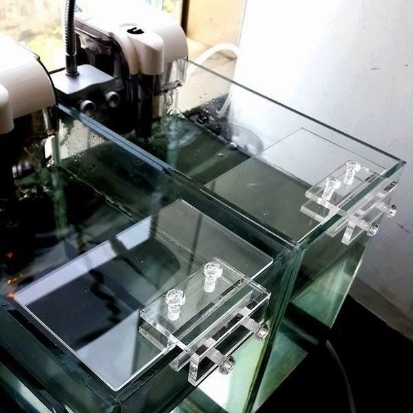 【小魚水族】【 超白魚缸蓋 隔板 壓克力蓋 防逃板】將壓克力板 固定魚缸 防止魚蝦跳缸 氣泡水滴噴濺
