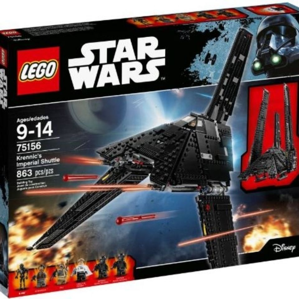 💖積木 玩具💖【現貨】LEGO樂高75156 Star Wars 星球大戰 Krennic 昆尼克的帝國穿梭機