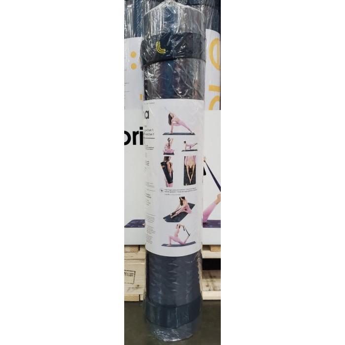 【小如的店】COSTCO好市多代購~LOLE TPE 瑜珈墊-含彈力帶180*61cm(1入) 1428084