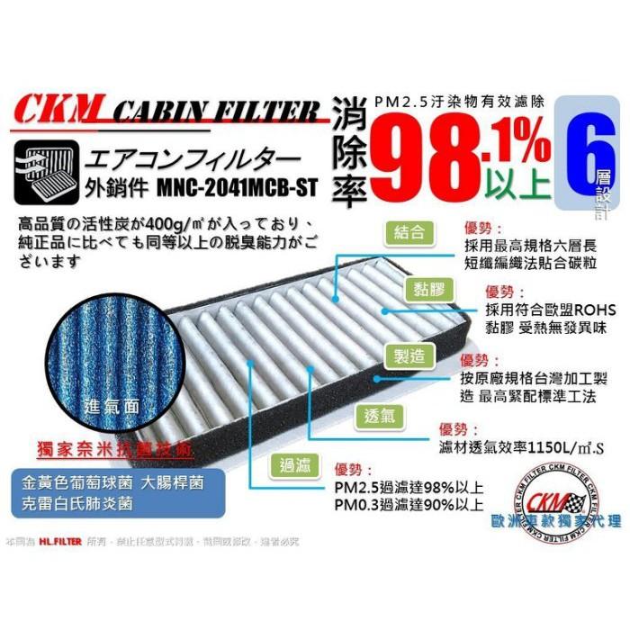 外銷品】CKM BENZ W204 C220 C280 抗菌 PM2.5 鼓風機濾網 粉塵 空調 濾網 活性碳 冷氣濾網