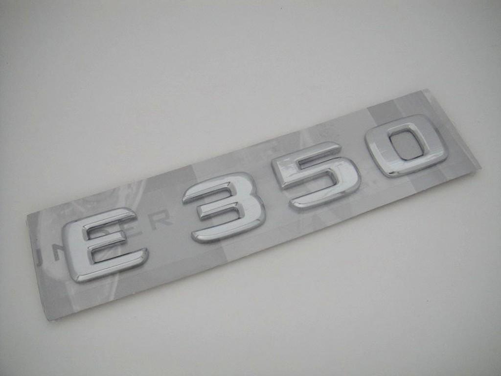 Benz 賓士 E class W211 W212 W210 E350 後車箱蓋 字體 字標 標誌 mark