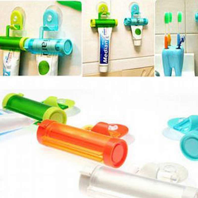 可吊式便利擠牙膏器(1入)【小三美日】D880966